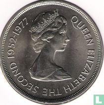 """Falklandeilanden 50 pence 1977 """"25th anniversary Accession of Queen Elizabeth II"""""""