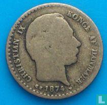 Denemarken 10 øre 1874
