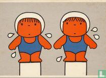 voor het kind - zwemsters