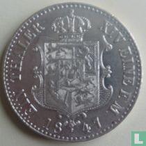 Hannover 1 thaler 1847 (A)
