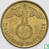 Duitse Rijk 5 reichspfennig 1938 (F)