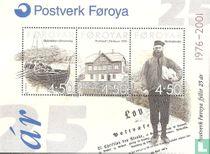 25 years Faroese Post