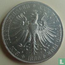 Frankfurt am Main 1 vereinsthaler 1860