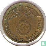 Duitse Rijk 5 reichspfennig 1937 (G)