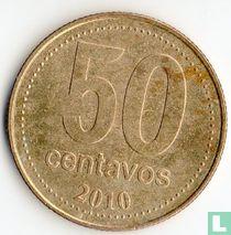 Argentina 50 centavos 2010