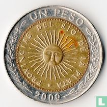Argentina 1 peso 2009 (without D)