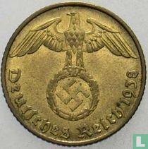 Duitse Rijk 5 reichspfennig 1938 (J)