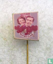 Beatrix - Claus 10-3-1966 (met rozen)