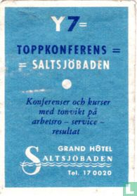 Toppkonferens Saltsjöbaden