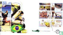 Grenzenlose Niederlande und Brasilien