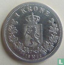 Norwegen 1 Krone 1877