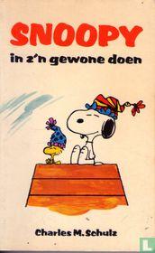 Snoopy in z'n gewone doen
