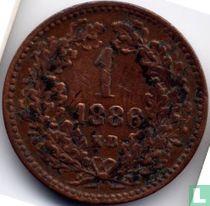 Hongarije 1 krajczar 1886