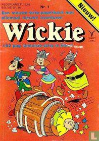 Wickie strip-paperback 1