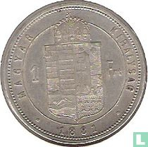 Hongarije 1 forint 1881