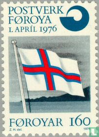 Création de service postal des îles Féroé