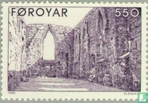 Ruine onvoltooide dom Kirkjubour