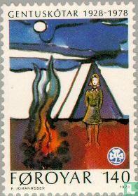 50 ans de Scoutisme-filles