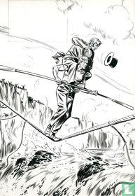 Blondin, l'homme qui défiait le vertige (cover Tintin)