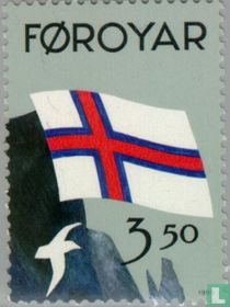 50 years flag of Faroe Islands