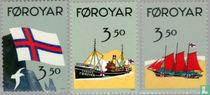 Faroe Islands Flag 1940-1990