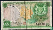 Singapore 5 dollar