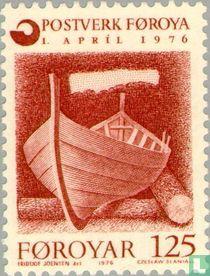 Faroese postal service creation