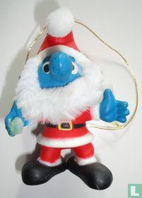 Kerstman Grote Smurf