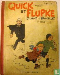 Quick et Flupke Gamins de Bruxelles 4e serie