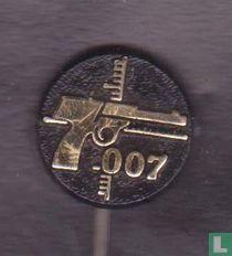 007 [gold on black]
