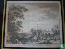 Graave belegerd, door Prinse Maurits, in 't jaar 1602