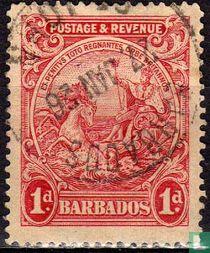 Nieuwe koloniaalzegel