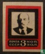 Timbres de deuil, Lénine