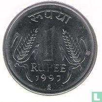 India 1 rupee 1997 (Mexico)