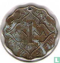 Brits-Indië 1 anna 1942 (Calcutta)