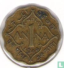 Brits-Indië 1 anna 1944 (Mumbai/Bombay)
