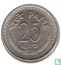 India 25 paise 1977 (Hyderabad)