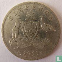 Australien 6 Pence 1917