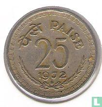 India 25 paise 1972 (Hyderabad)
