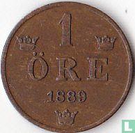 Zweden 1 öre 1889