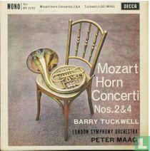 Mozart: Horn concerti no.2 & no. 4
