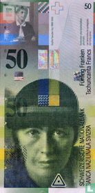 Switzerland 50 francs 1996
