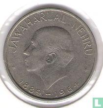 """India 50 paise 1964 (Bombay - Engelse legende) """"Death of Jawaharlal Nehru"""""""