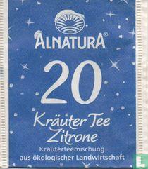 20 Kräuter Tee Zitrone Kräuterteemischung