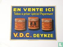 En vente ici; Tabac à priser spécial pepermunt