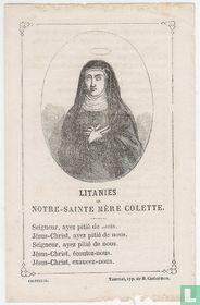 Litanies de Notre Sainte Mère Colette
