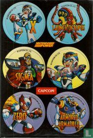 Mega Man X Promo Pogs