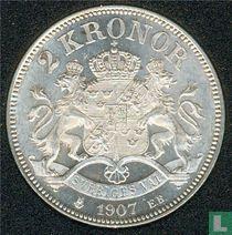 Zweden 2 kronor 1907