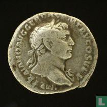 Zilveren denarius van Trajanus
