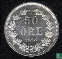 Schweden 50 Öre 1898
